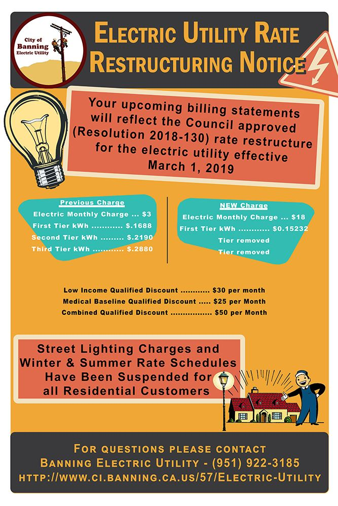 Electric Rates Restructuring