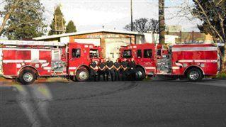 Engine 20 & 89 with company personnel