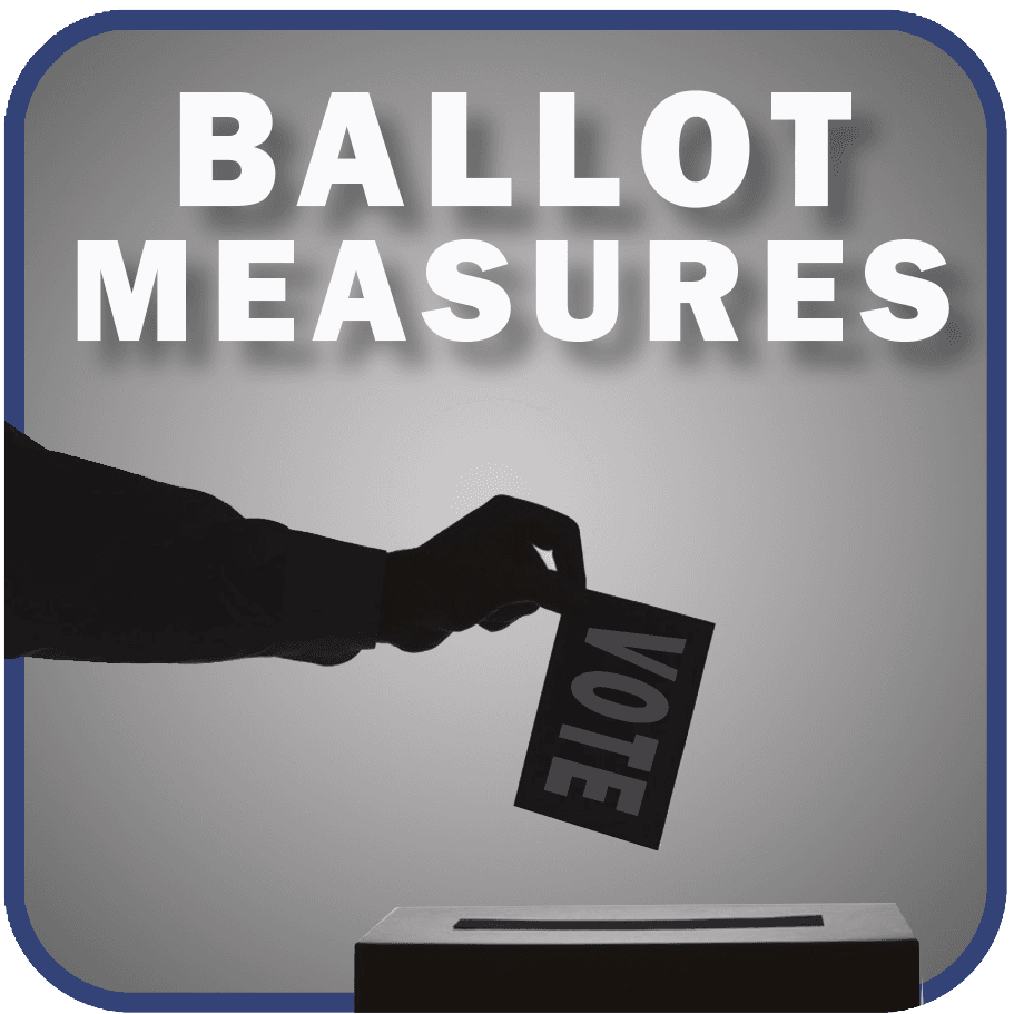 Ballot Measure button