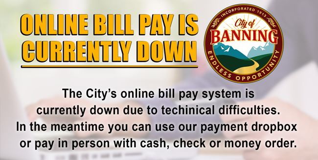 online bill pay down web2